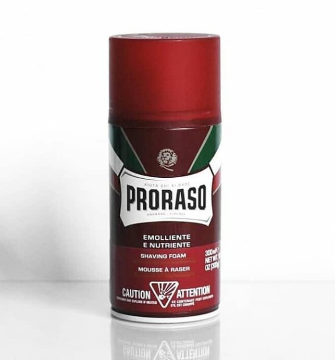 Proraso Red Line Shaving Foam
